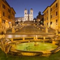 Rom Fotos - blaue Stunde - Kalenderbilder