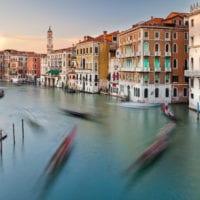Venedig Fotos - blaue Stunde - Kalenderbilder
