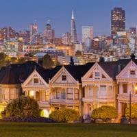 San Francisco Fotos - blaue Stunde - Kalenderbilder