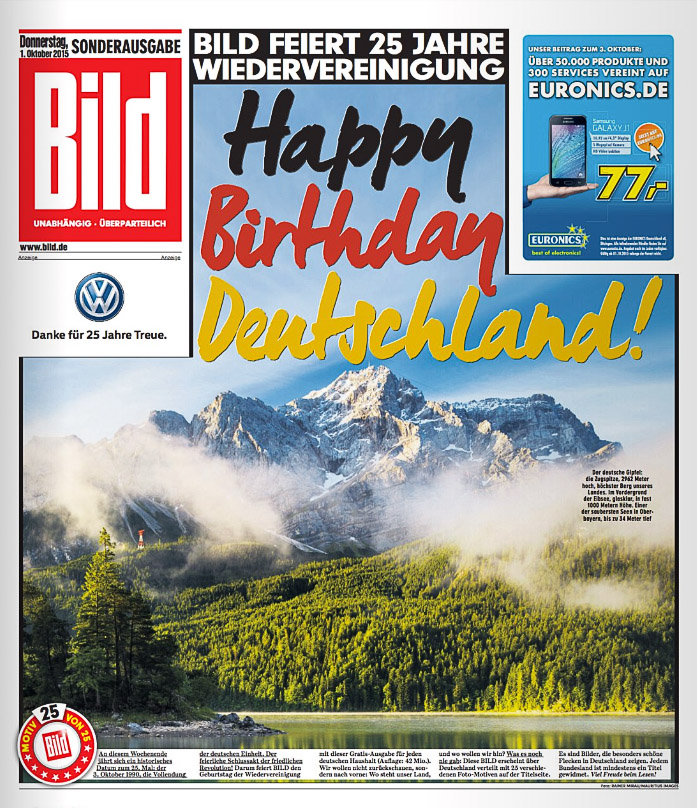 Cover Bild Zeitung