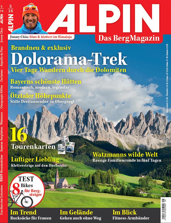 Cover Alpin Magazin