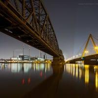 Voest Linz, Stahlwerk, Donau, Oberösterreich, Österreich