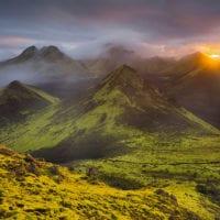 Storkonufell, Mofell, Fjallabak, Südisland, Island