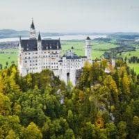 Schloss Neuschwanstein, Allgäu, Oberbayern, Bayern, Deutschland
