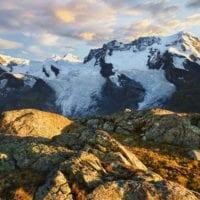 Breithorn, Gornergrat, Wallis, Schweiz