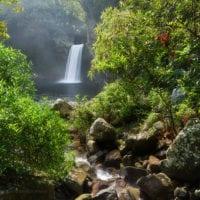 Cascade la Paix, Réunion, Frankreich.