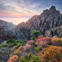 Calanche, Korsika, Frankreich