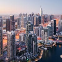 Dubai Marina Skyline, VAE