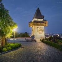 Foto Grazer Uhrturm - Landschaftsfotografie