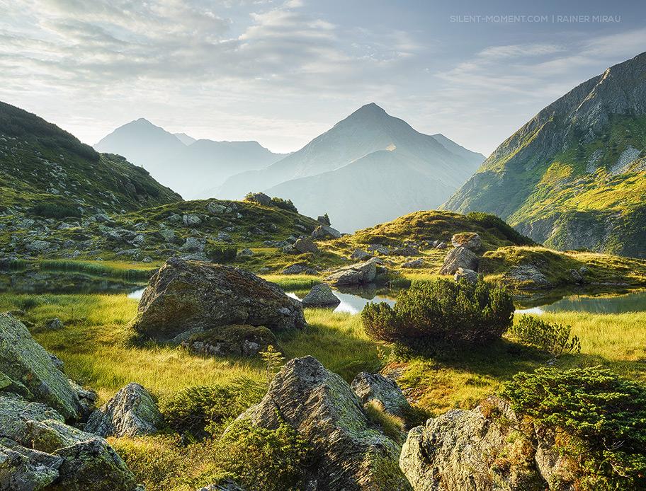 Landschaftsfotograf, Österreich