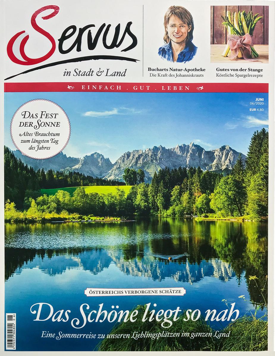 servus magazin cover